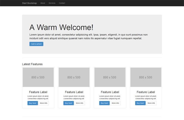 Free Bootstrap 3 Themes and Templates | Dynamic website 03 | Pinterest