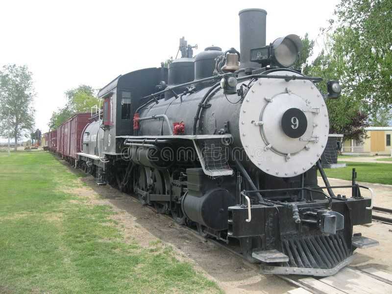 Train Engine And Freight Cars Exhibit At Laws Railroad Museum In Bishop Ca Ad Cars Exhibit Freight Train Engi Train Locomotive Stock Images Free