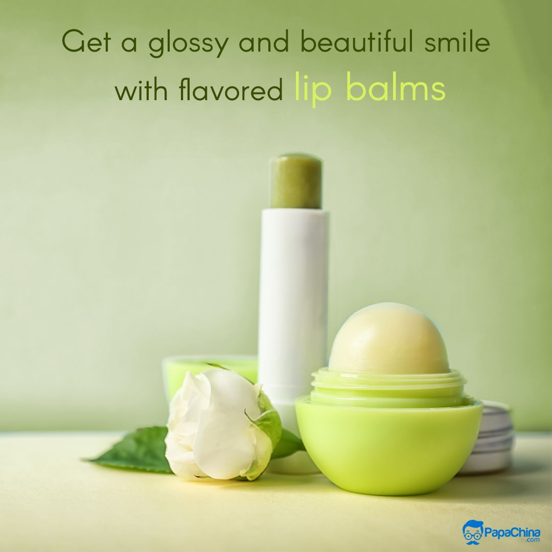 Get A Glossy And Beautiful Smile With Flavored Lip Balms The
