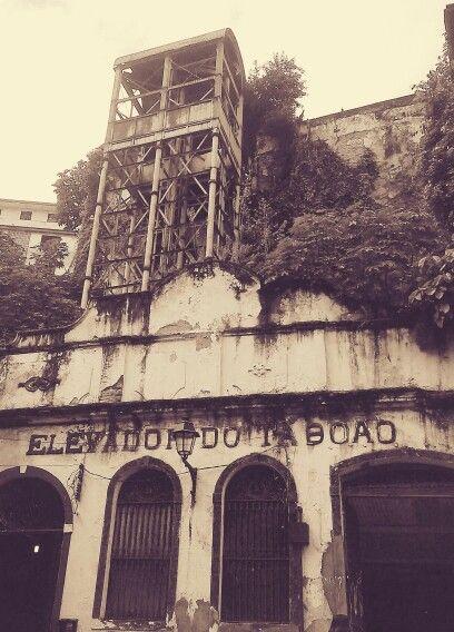 Elevador do Taboão - Salvador, Bahia, Brasil.