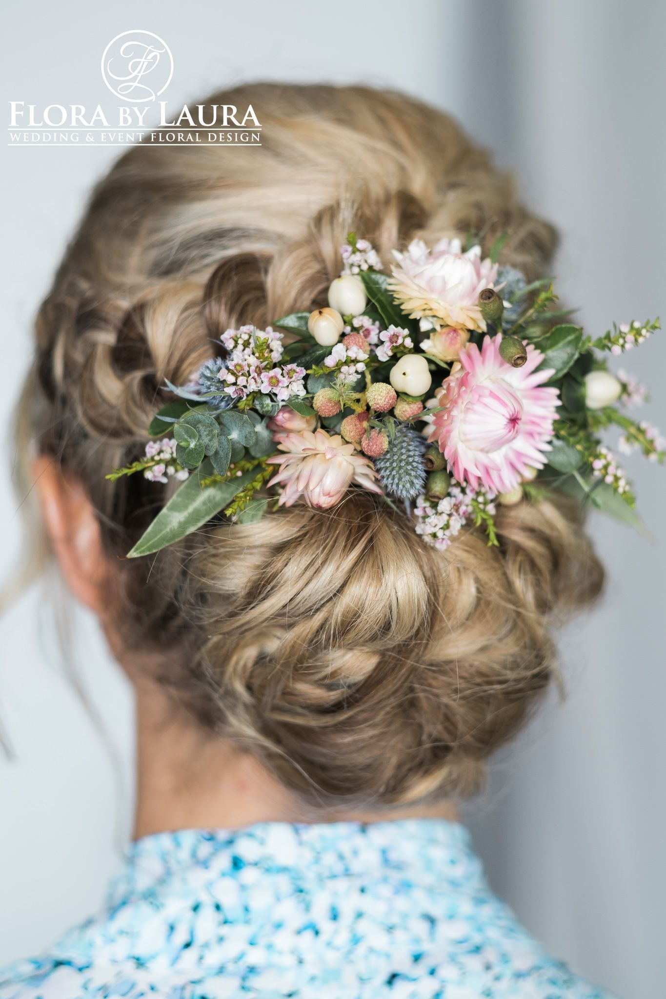 flora by laura hairpiece - accentuate your wedding hair