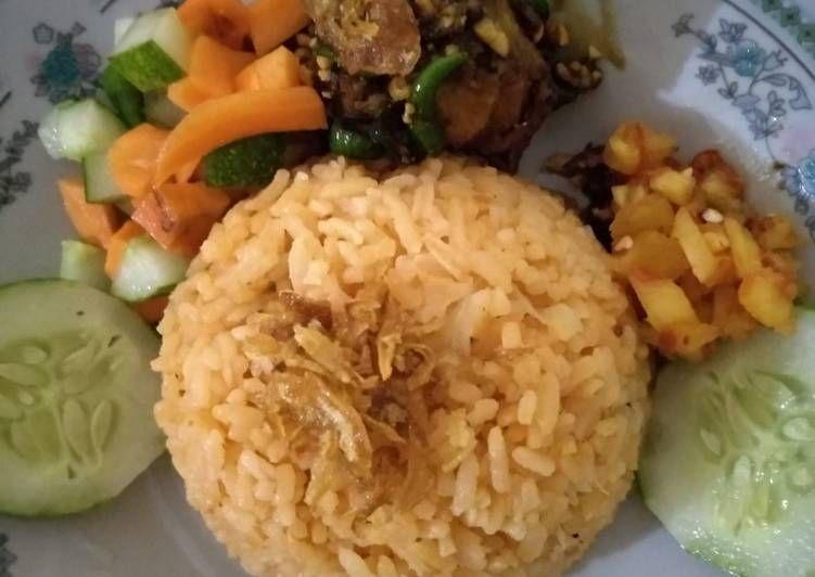 Resep Nasi Minyak Asli Palembang Oleh Nia Agustino Resep Resep Masakan Indonesia Resep Resep Masakan