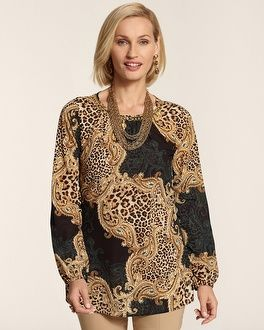 Animal Instinct (Chico's Posh Animal Victoria Top #chicos)