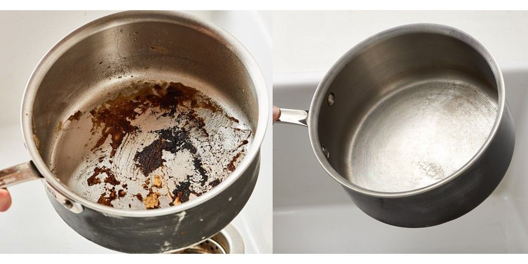 Best 3 brilliant ways to clean a burnt pan cleaning pan