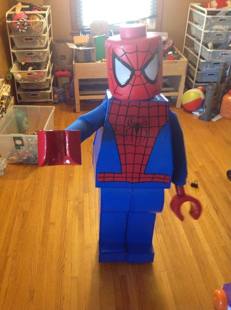 Lego Spider Man Halloween Costume In 2018 Stuff I Must Do
