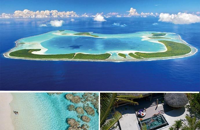 Hot, Hot, Hot! MARLON BRANDO'S FRENCH POLYNESIAN RESORT. See more stunning images of this place at jebiga.com #travel #marlonbrando #marlonbrandoresort #hotels #luxuryhotels