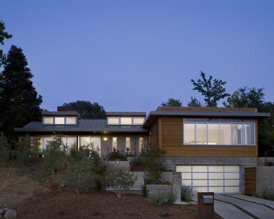 Split Roof Design: Landscaping & Stairs: Split Entry Remodel Design, Pictures