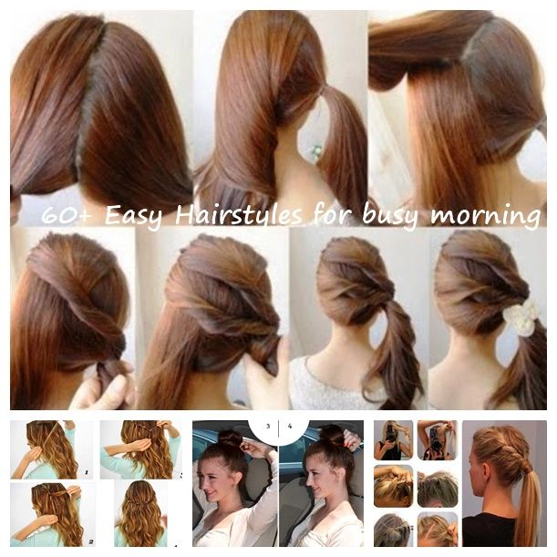 Quick Hairstyles Extraordinary 60 Easy Hairstyles For Busy Morning  Easy Hairstyles Quick