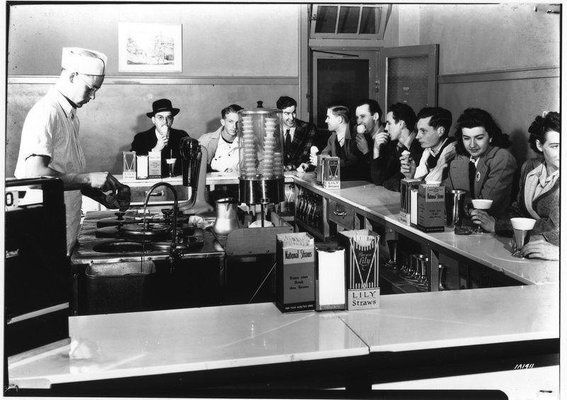 History of kstate call hall ice cream 1941 kansas