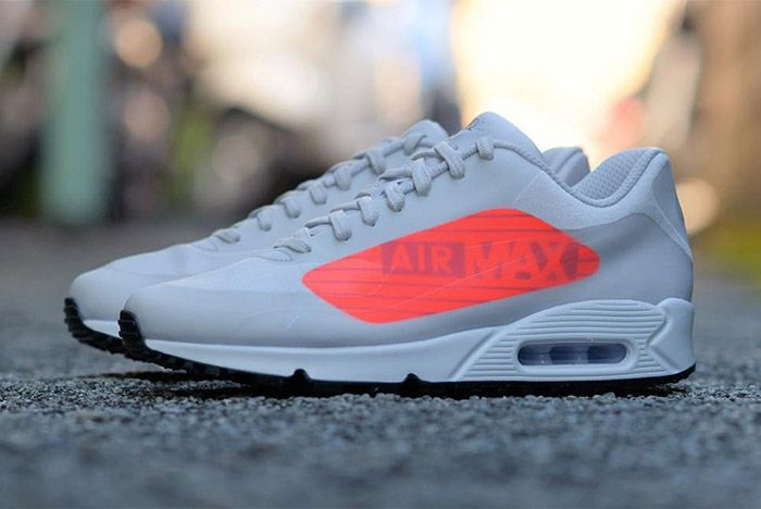 The AM90 Gets Maxed Out with Over Sized Branding | Nike air