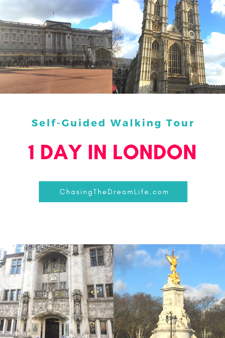 Self-Guided Walking Tour: 1 Day in London -- 24 hours in London   Things to do in 24 hours in London   Lon…   24 hours in london. London walking ...