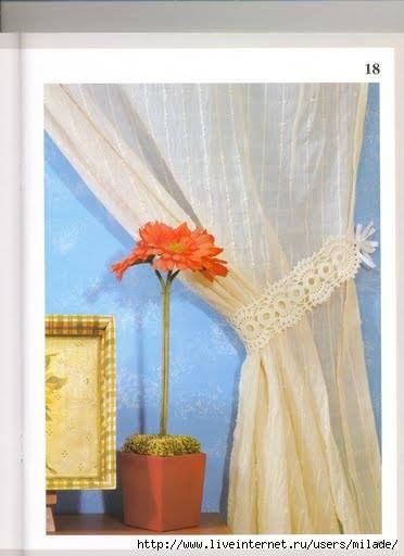 Sujetador de cortinas aplique de puntilla http - Apliques para cortinas ...