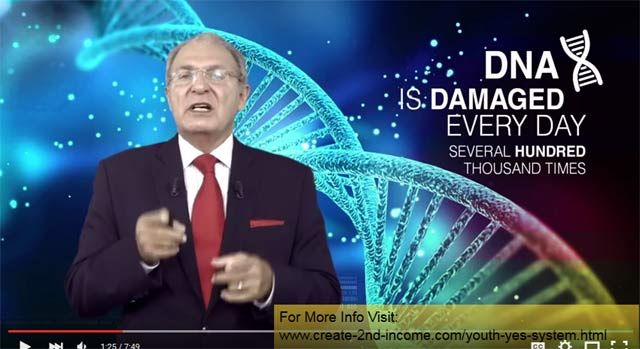 Jeunesse Longevity TV How We Age and the YES System - http://create-2nd-income.com/wordpress/2015/09/28/longevitytv-howweage/