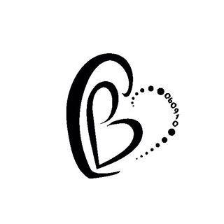 Initials Cb Looks Like 2 Hearts Was Going To Be A Tattoo Of My Own B Tattoo Letter B Tattoo Tattoo Fonts