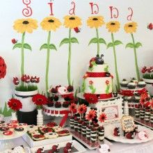 Featured Ladybug Themed Birthday Party