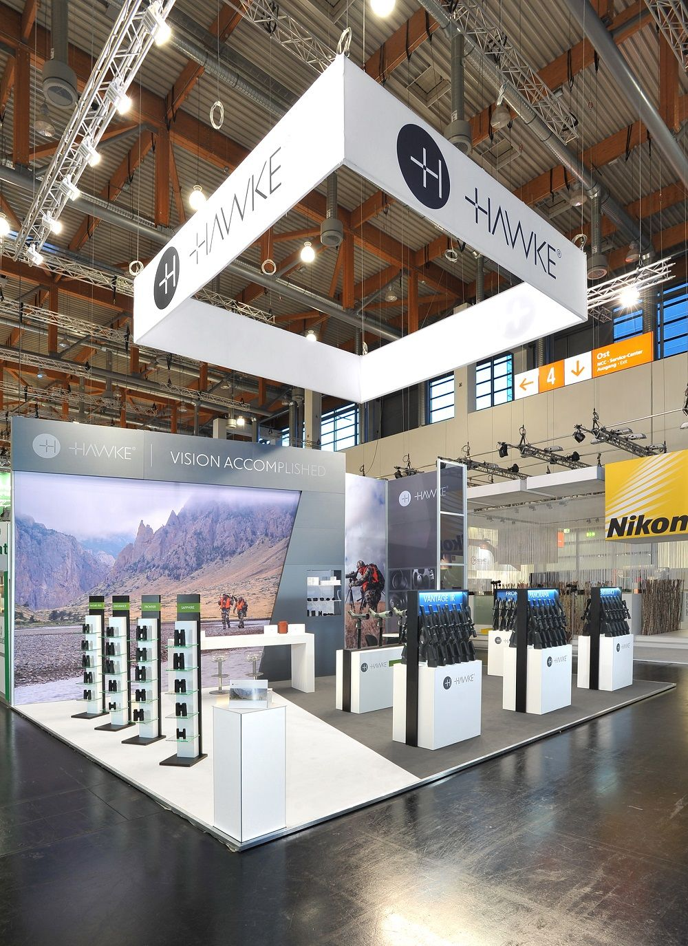 Expo Stands 2015 : Hawke exhibition stand at iwa design