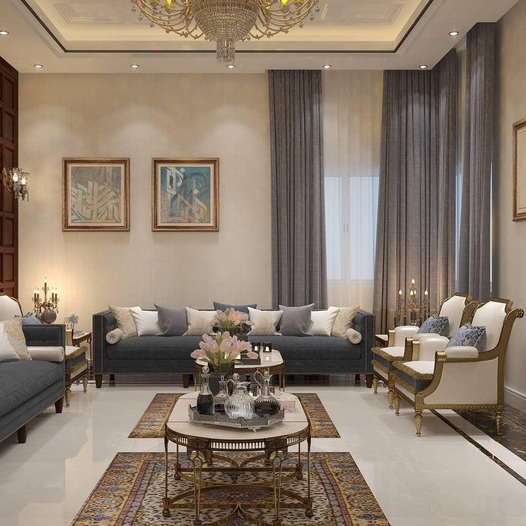 الرائدون في مجال الاثاث أحدث الموديلات وأرقى التصميمات وبأسعار مناسبة للج Living Room Design Decor Living Room Decor Apartment Luxury Living Room Design