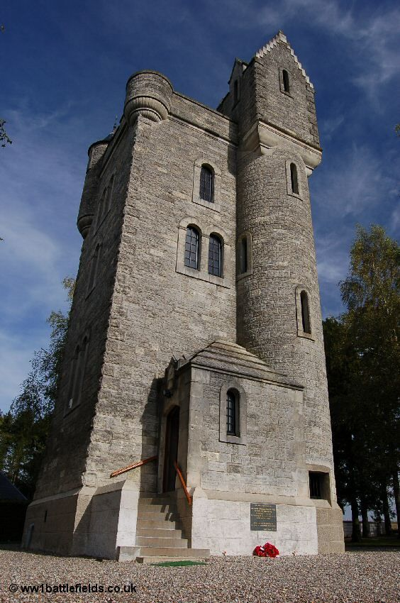 War Memorial - The Ulster Tower, Thiepval, France.