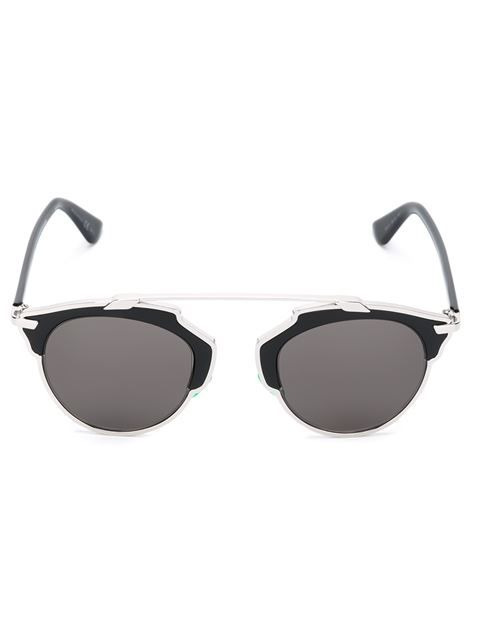 Shop Dior 'So Real' sunglasses in Mode de Vue from the world's best independent boutiques at farfetch.com. Shop 300 boutiques at one address.
