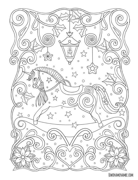 Pin de Aneschk James en Coloring | Pinterest | Colorear, En navidad ...