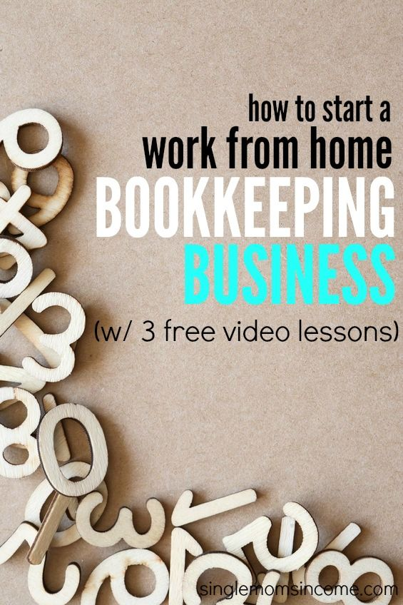 How to start an online bookkeeping business online bookkeeping if youve thought of becoming a bookkeeper heres a useful course that will teach malvernweather Image collections