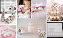 pink silver wedding - Google Search
