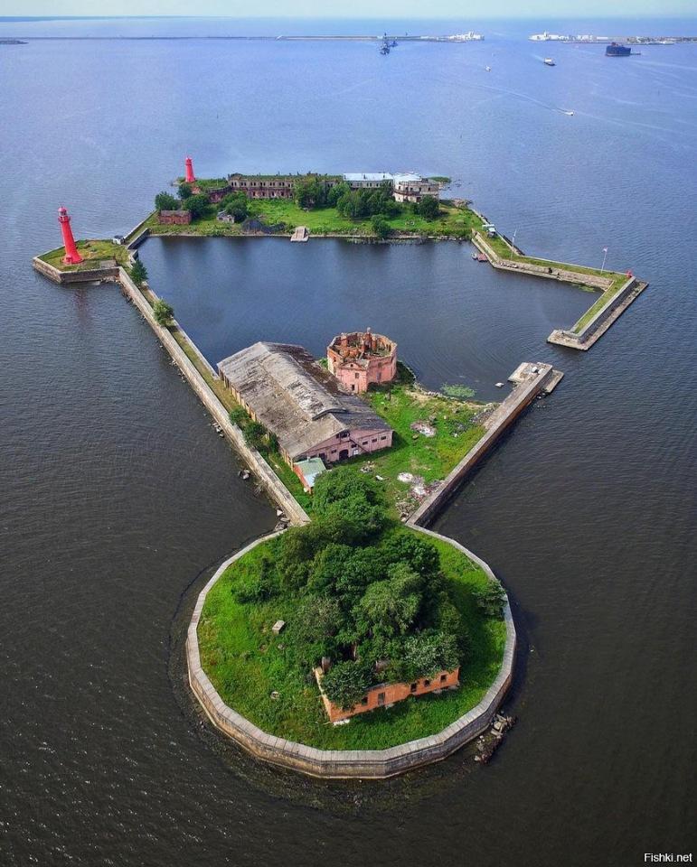фото фортов кронштадта каштана может
