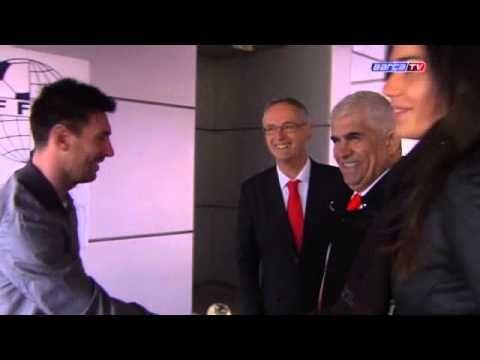 La Federación Internacional de Fútbol, historia y estadística (IFFHS) ha entregado al Club el premio como mejor equipo de 2012. Messi e Iniesta, también galardonados como mejor goleador y mejor playmaker, también han recibido su galardón
