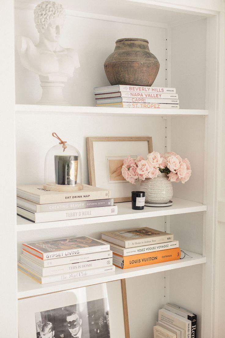 Some pretty ideas to style your #shelves#homedecoration#interiordesign#decoration#livingroom