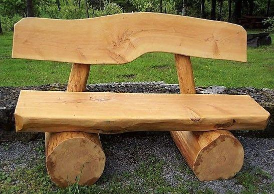 De jolis bancs en bois, faits maison pour le jardin ! | RECYCLAGE ...