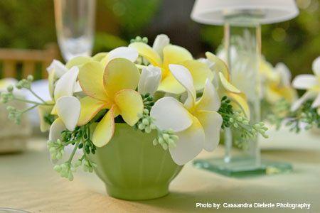 Hawaiian Lei Vase Hulahangout Com Plumeria Ceramic Vase Tropical Decor