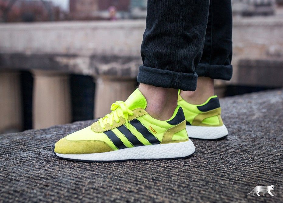 adidas Iniki Runner (Solar Yellow Core Black Ftwr White