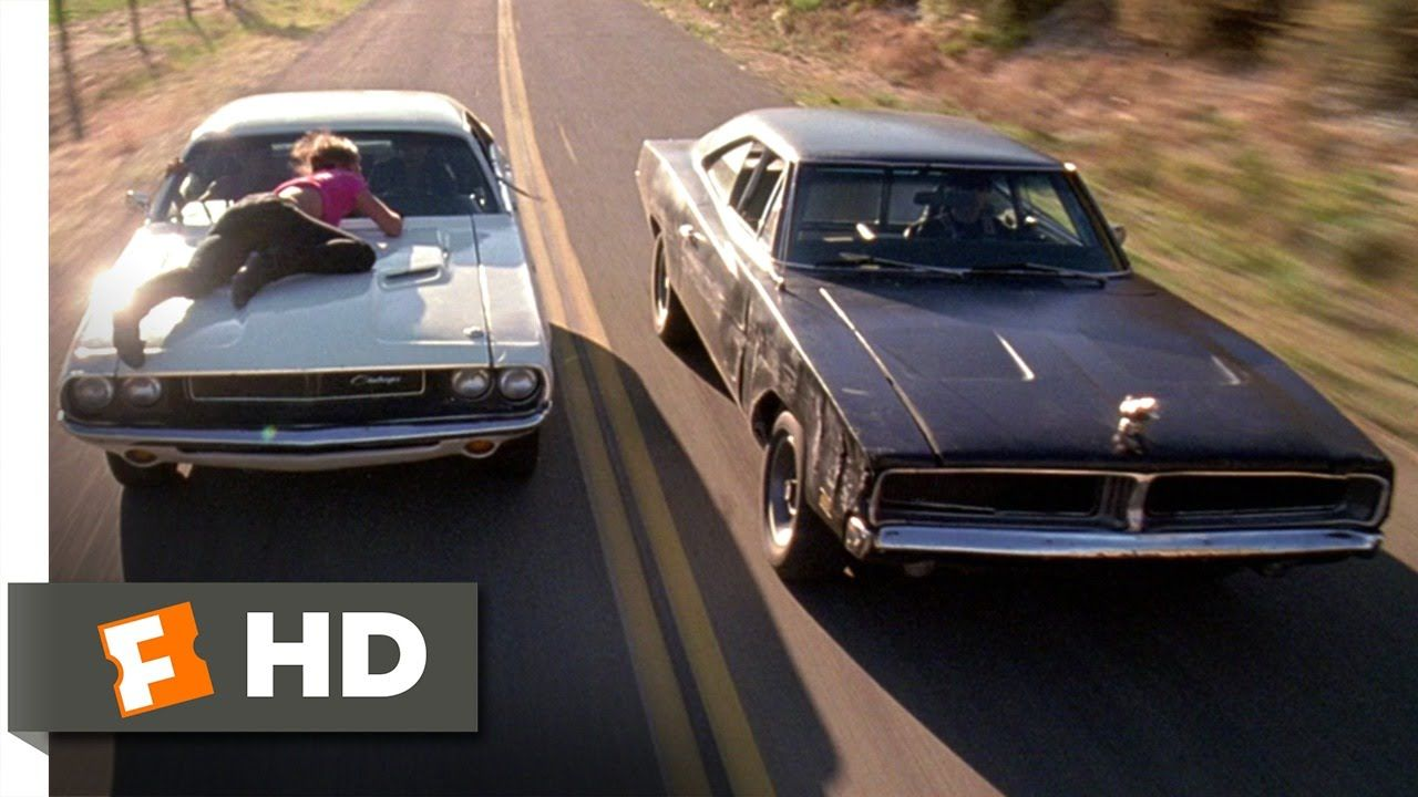 Death proof has one of the most palm sweating car chases i have ever seen props