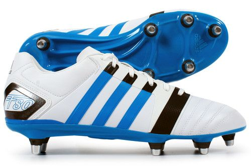 FF80 Pro XTRX SG II Rugby Boots Running White/Solar Blue | Adidas |  Pinterest | Rugby
