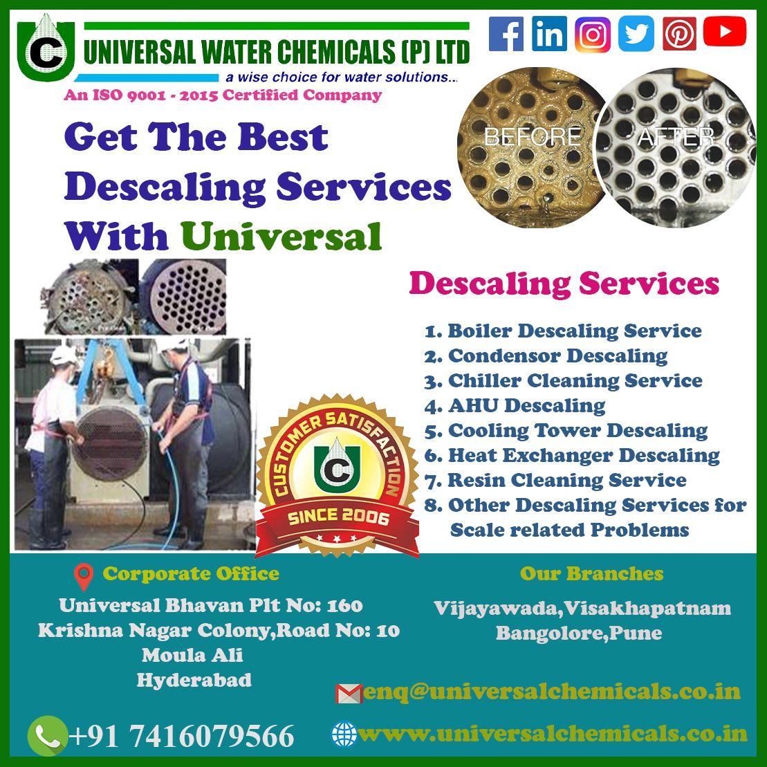 UNIVERSAL WATER CHEMICALS!!! UniversalWaterChemicals,