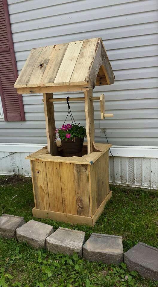 garden well out of pellets dream home pinterest. Black Bedroom Furniture Sets. Home Design Ideas