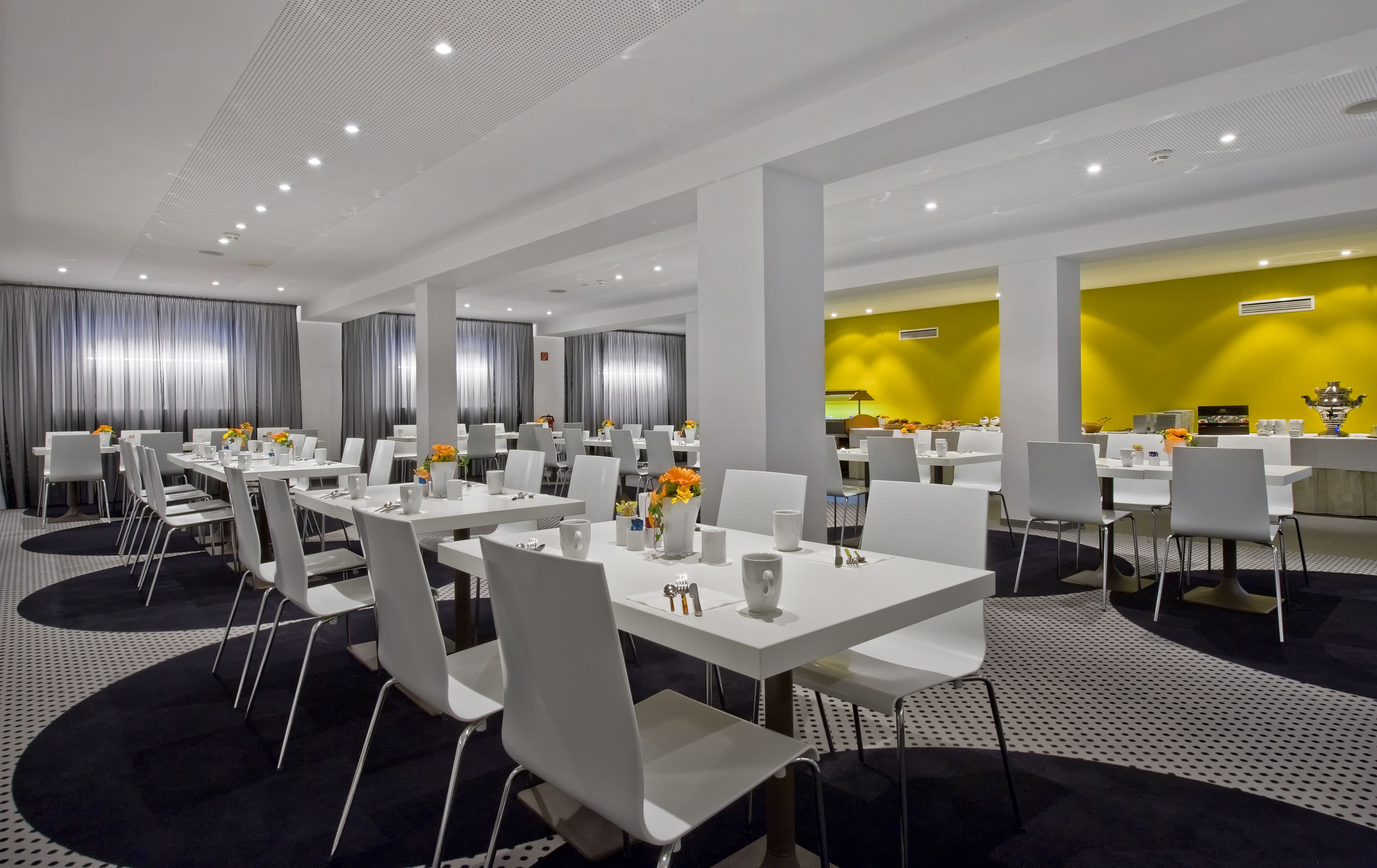 Frankfurt Minimal breakfast room at tryp by wyndham frankfurt tryp by wyndham
