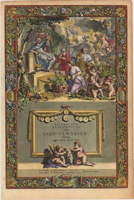 Nauwkeurige Beschryving der Aard-Gewassen, door Abraham Munting, 1696