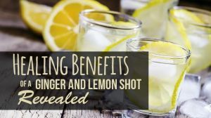 Healing Benefits Of A Ginger And Lemon Shot Revealed