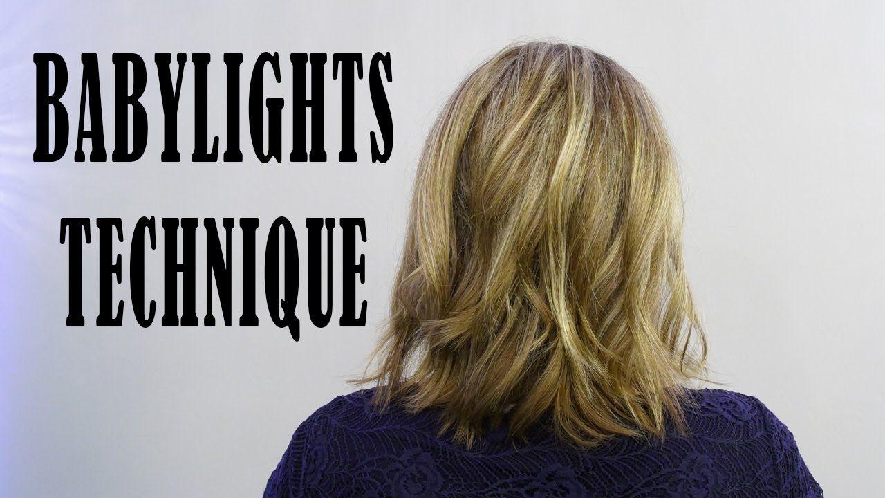 BABYLIGHTS with REDKEN BLONDE IDOL & OLAPLEX Babylights