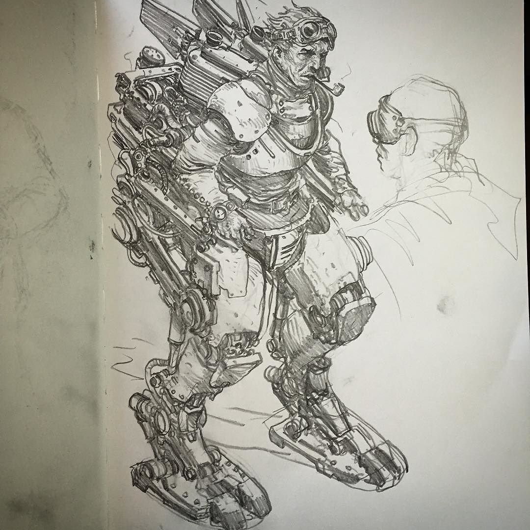 Mecha madness I got a bit carried away with this one! by