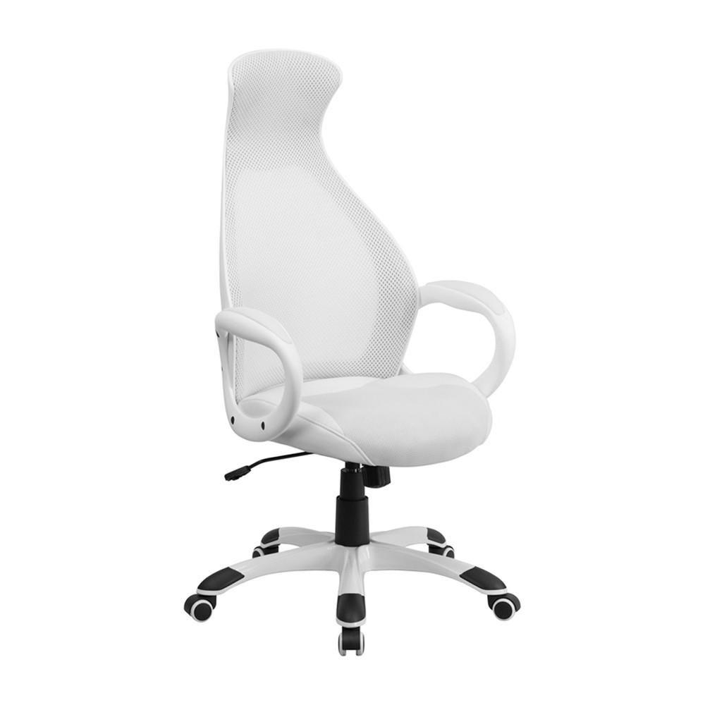 Flash furniture high back executive white mesh chair ch