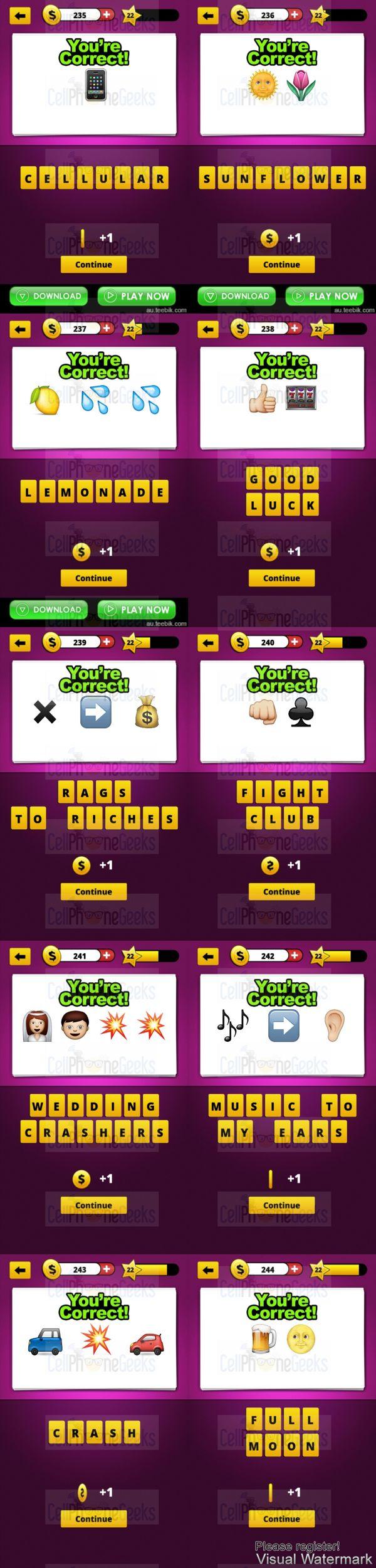 Guess The Emoji Answers Level 2 : guess, emoji, answers, level, Guess, Emoji, Level, Answers, CellPhoneGeeks, Answers,, Emoji,