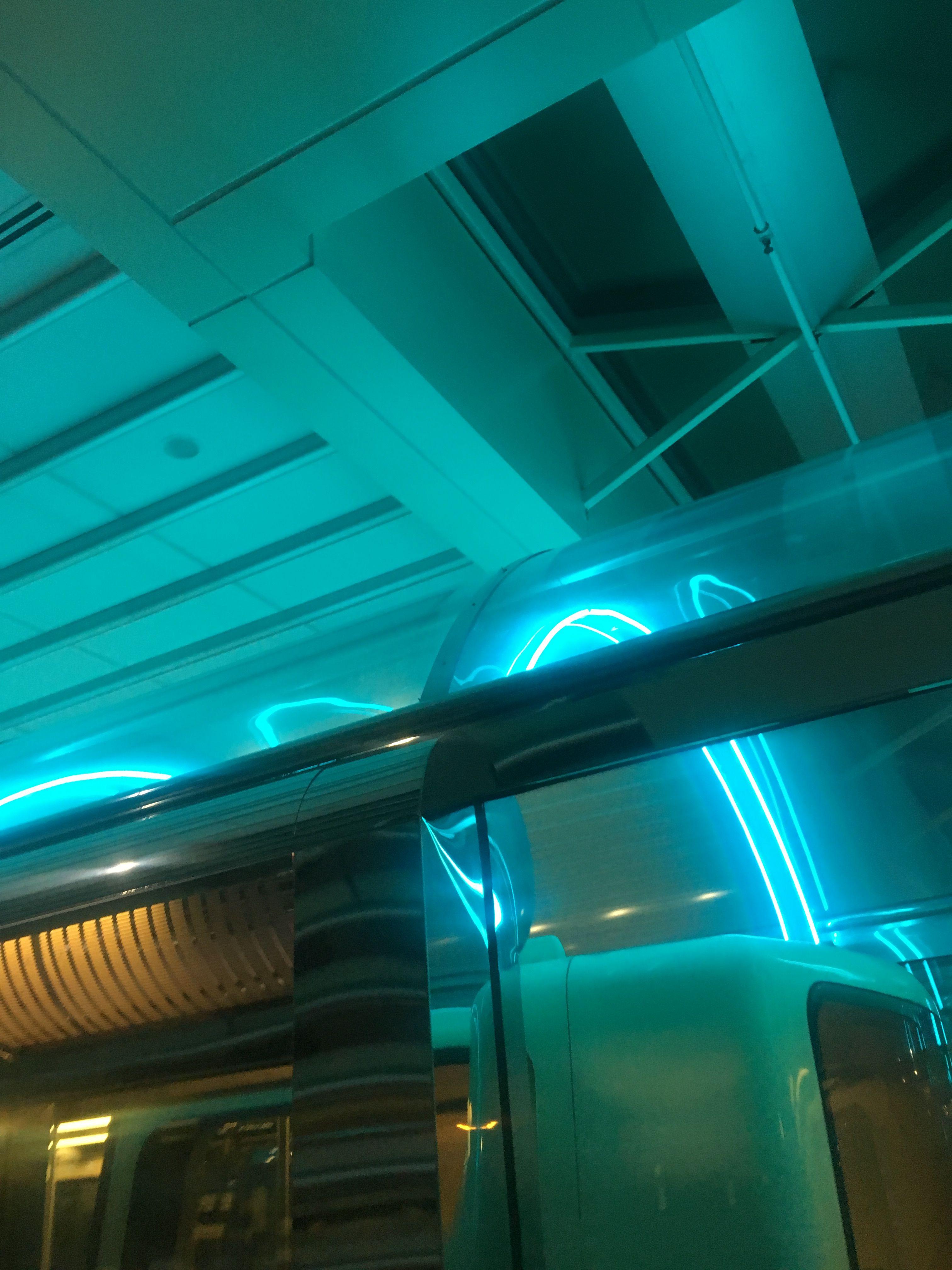 Turquoise Light Neon Aesthetic