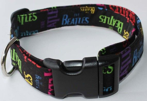 Need This Cca The Beatles Dog Collar Size Xs S M Or L By Xfauxpawsx