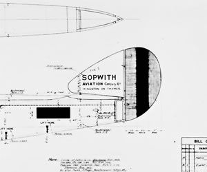 Sopwith camel pup factory aircraft blueprints plans ww1 sopwith camel pup factory aircraft blueprints plans ww1 fpsopwith 11900 plans malvernweather Image collections