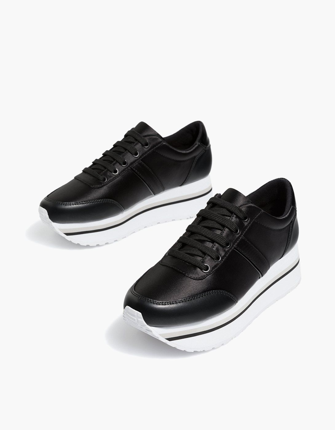 At Stradivarius you ll find 1 Black contrasting platform sneakers for just  29.99 Slovensko . Visit now to discover this and more Všetko. 9014ac759ae