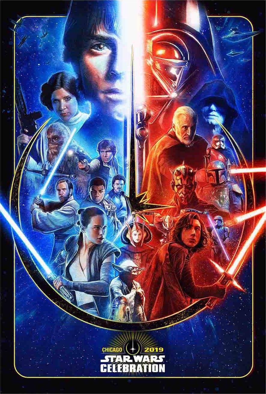 Star Wars Celebration Chicago 2019 Finn Pin