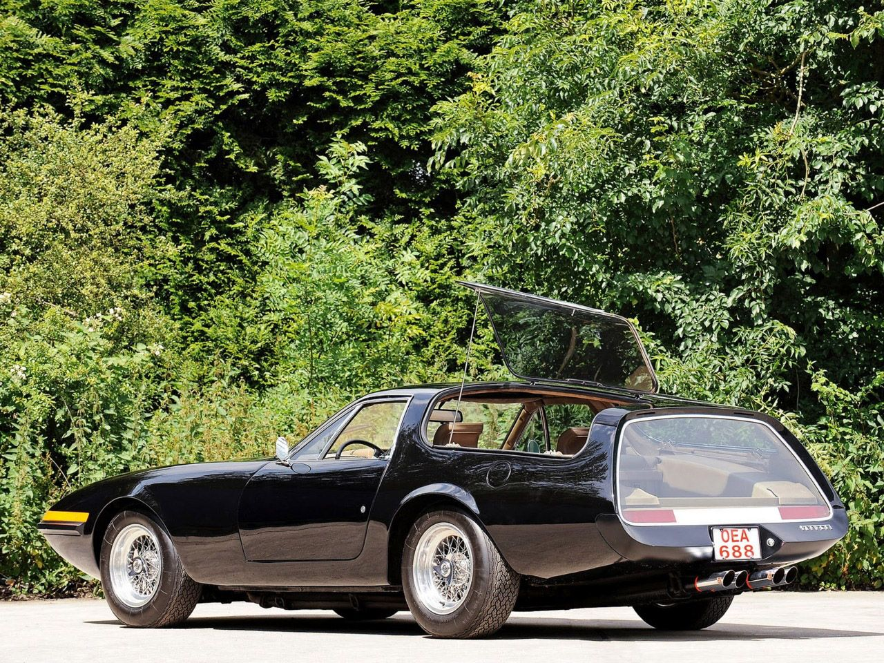 1974 panther ferrari 365 gtb 4 daytona shooting brake created by panther westwinds of byfleet