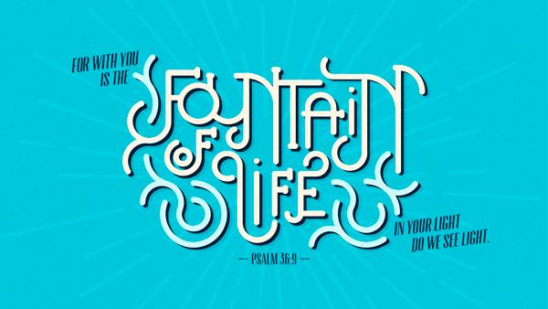 Verse of the Day from Logos.com    시편 36:9, 진실로, 생명의 원천이 주께 있사오니, 주의 빛 안에서 우리가 빛을 보리이다.